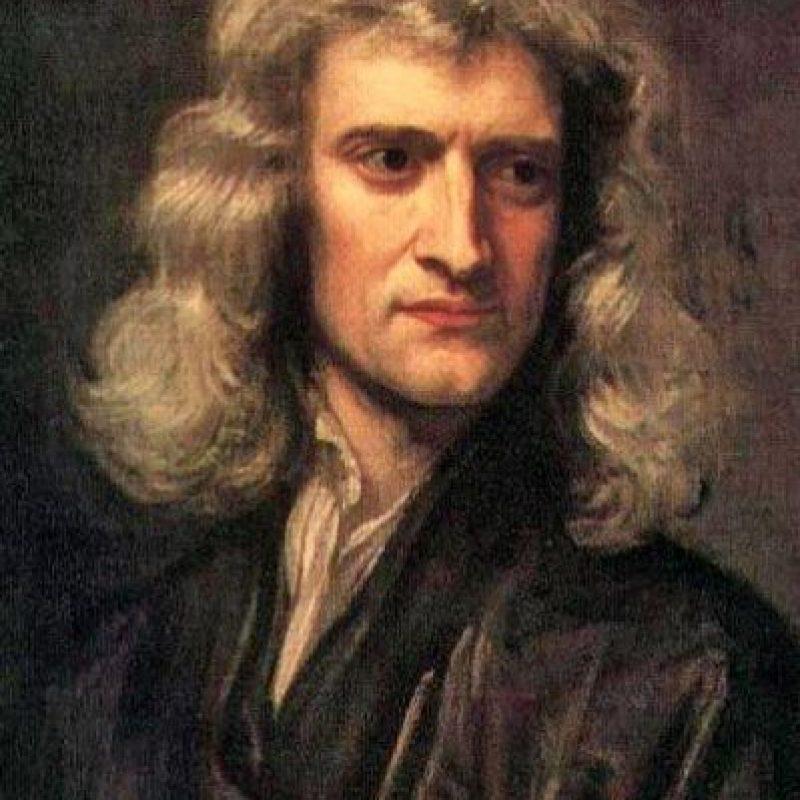 Isaac Newton Foto:Pinterest