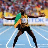 Medalla de Oro en el Mundial de Atletismo 2013 en 200 metros planos. Foto:Getty Images