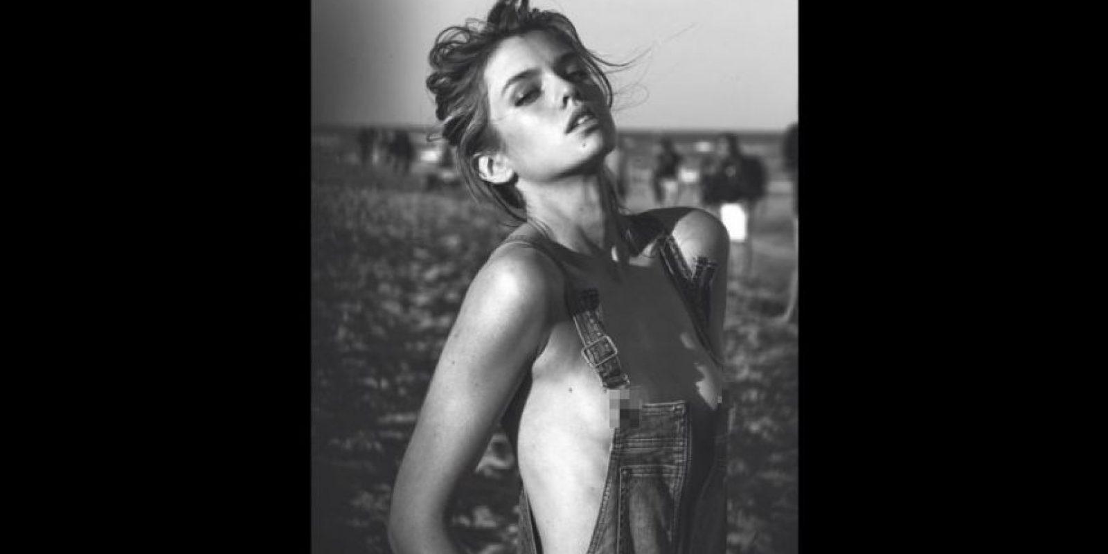Stella Maxwell es una modelo de 24 años Foto:vía instagram.com/davidbellemere