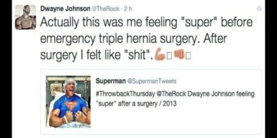 Dwayne Johnson Foto: Twitter/TheRock