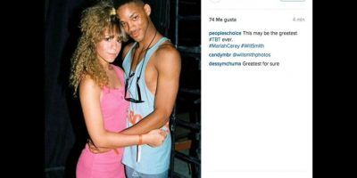 Mariah Carey y Will Smith Foto: Instagram/peopleschoice