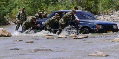 Mil 88 en los últimos seis días (151 diarios), de acuerdo a la Oficina de Coordinación Humanitaria de Naciones Unidas en Colombia. Foto:AFP