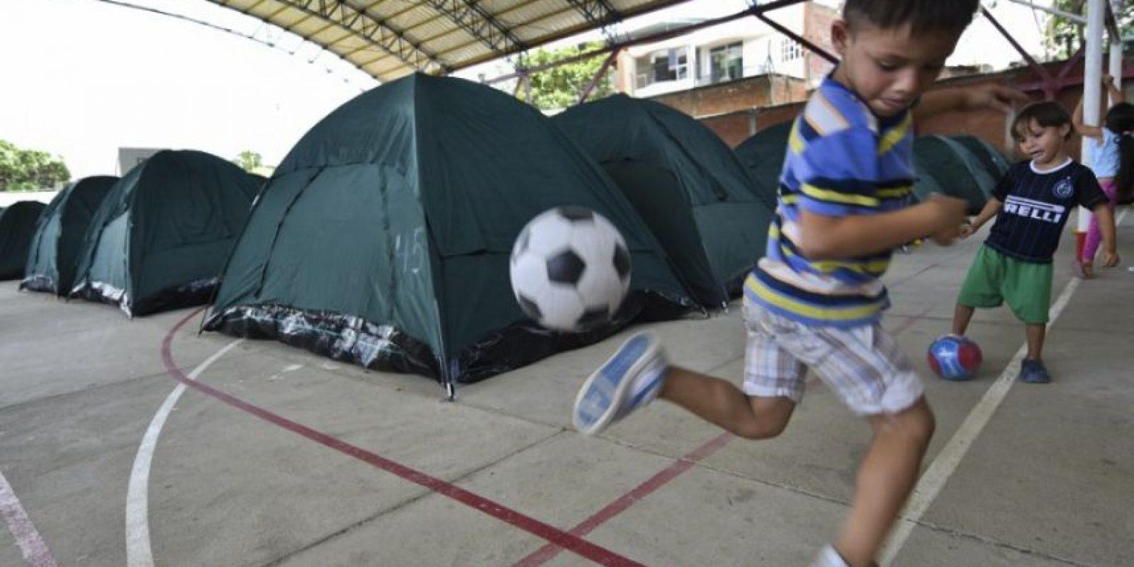 De los cuales 244 son menores de edad. Foto:AFP