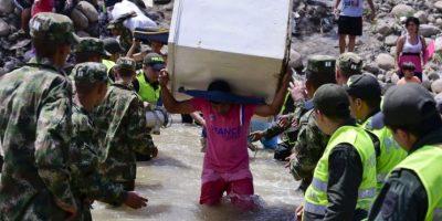 Venezuela también inició la deportación y repatriación de colombianos en su territorio. Foto:AFP
