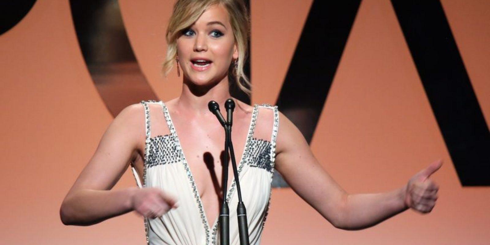 Jennifer Lawrence tiene 25 años Foto:Getty Images