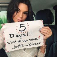 Kendall Jenner Foto:Instagram/JustinBieber