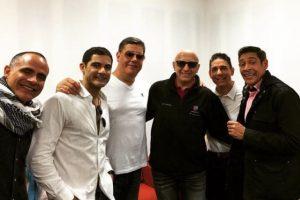 La banda El Reencuentro surgió en 1998, cuando los exintegrantes de Menudo se reunieron. Foto:vía instagram.com/johnnylozada