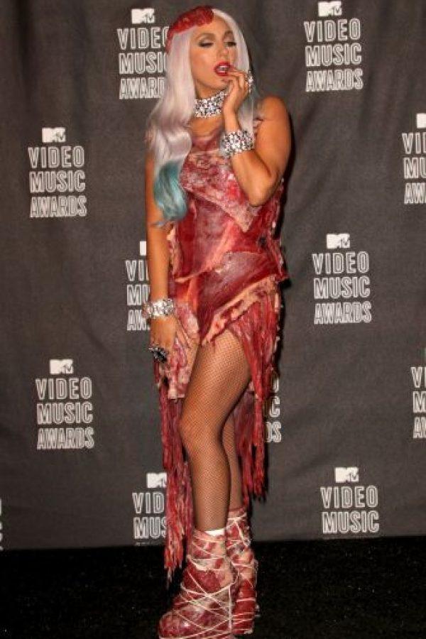 2010. Lady Gaga Foto:Getty Images