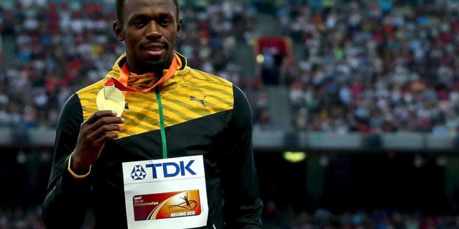 Sigue siendo el hombre más rápido del mundo Foto:Getty Images