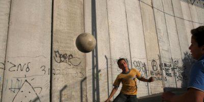 Muro entre Israel y Palestina. Foto:Getty Images