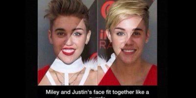 Lo comparó con Miley Cyrus. Foto:vía twitter.com/drakebell