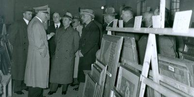 Para 1945 los nazis habían repartido sus tesoros. Foto:Vía archives.gov