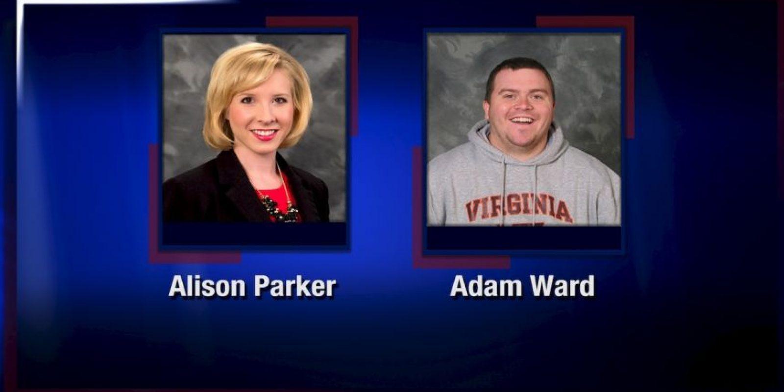 La reportera Alison Parker y el camarógrafo Adam Ward estaban realizando un reportaje normal. Foto:AP