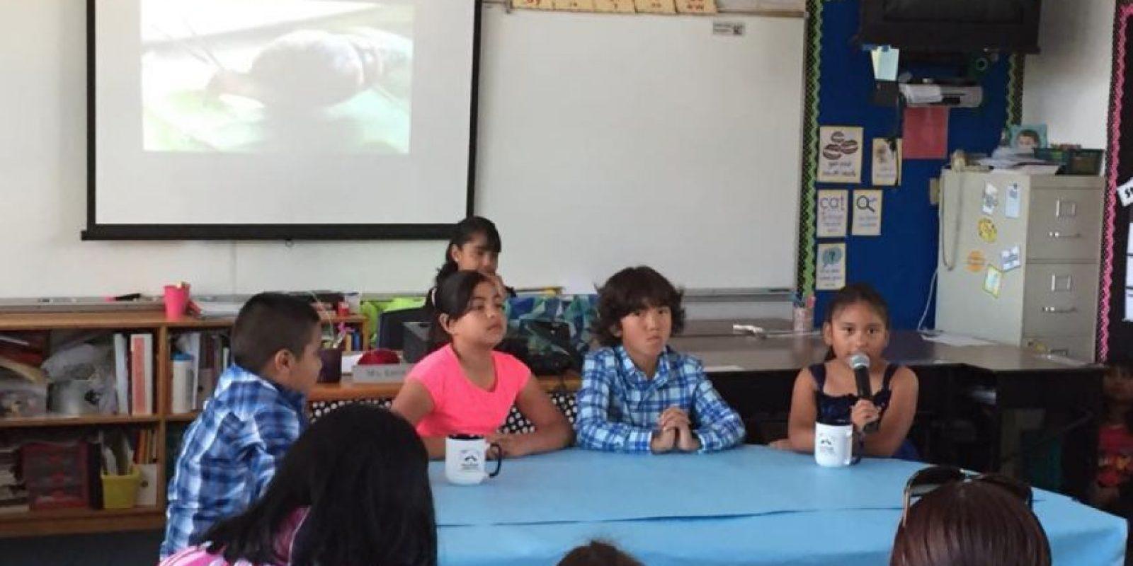 En el ciclo escolar pasado llegó 46 veces tarde al trabajo. Foto:Vía facebook.com/RooseveltElementarySchool