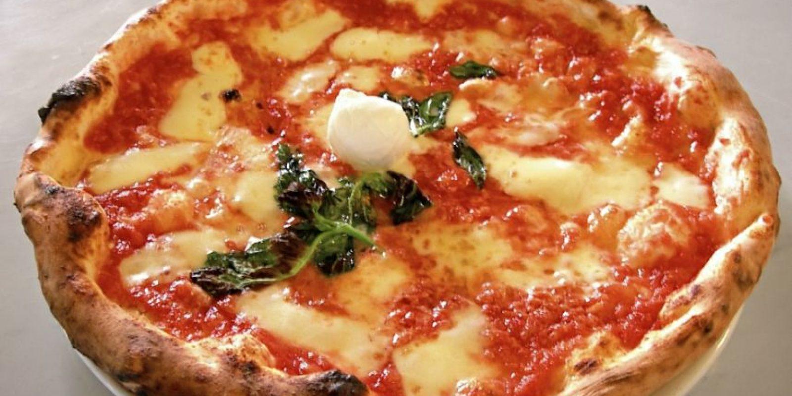 Las personas que usan los cubiertos para comer su pizza son estables, tranquilos y metódicos Foto:Wikimedia