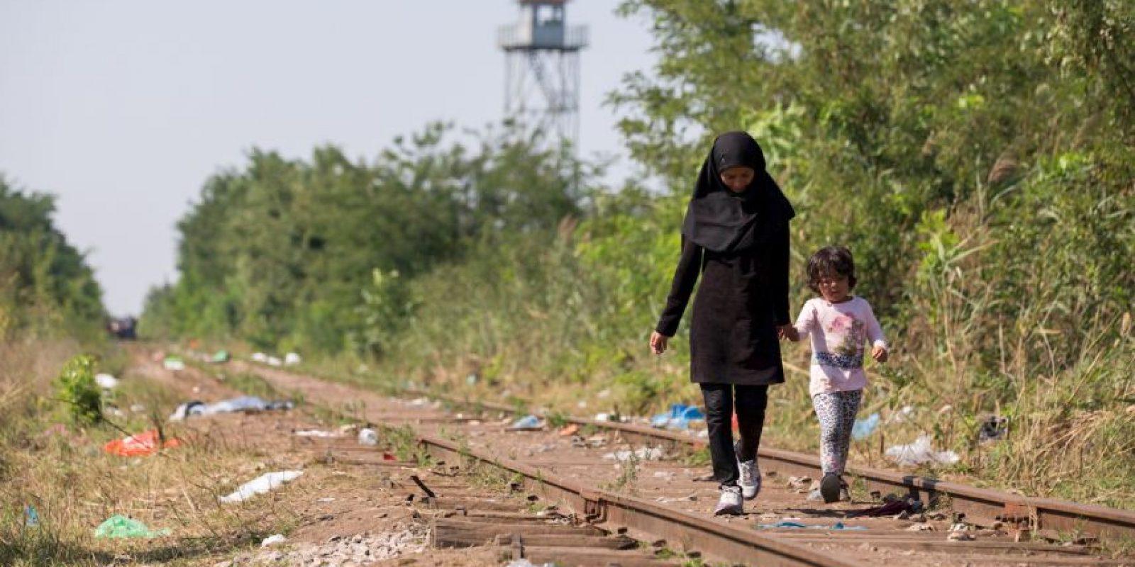 Los menores, se encontraban en situación crítica por deshidratación. Foto:Getty Images