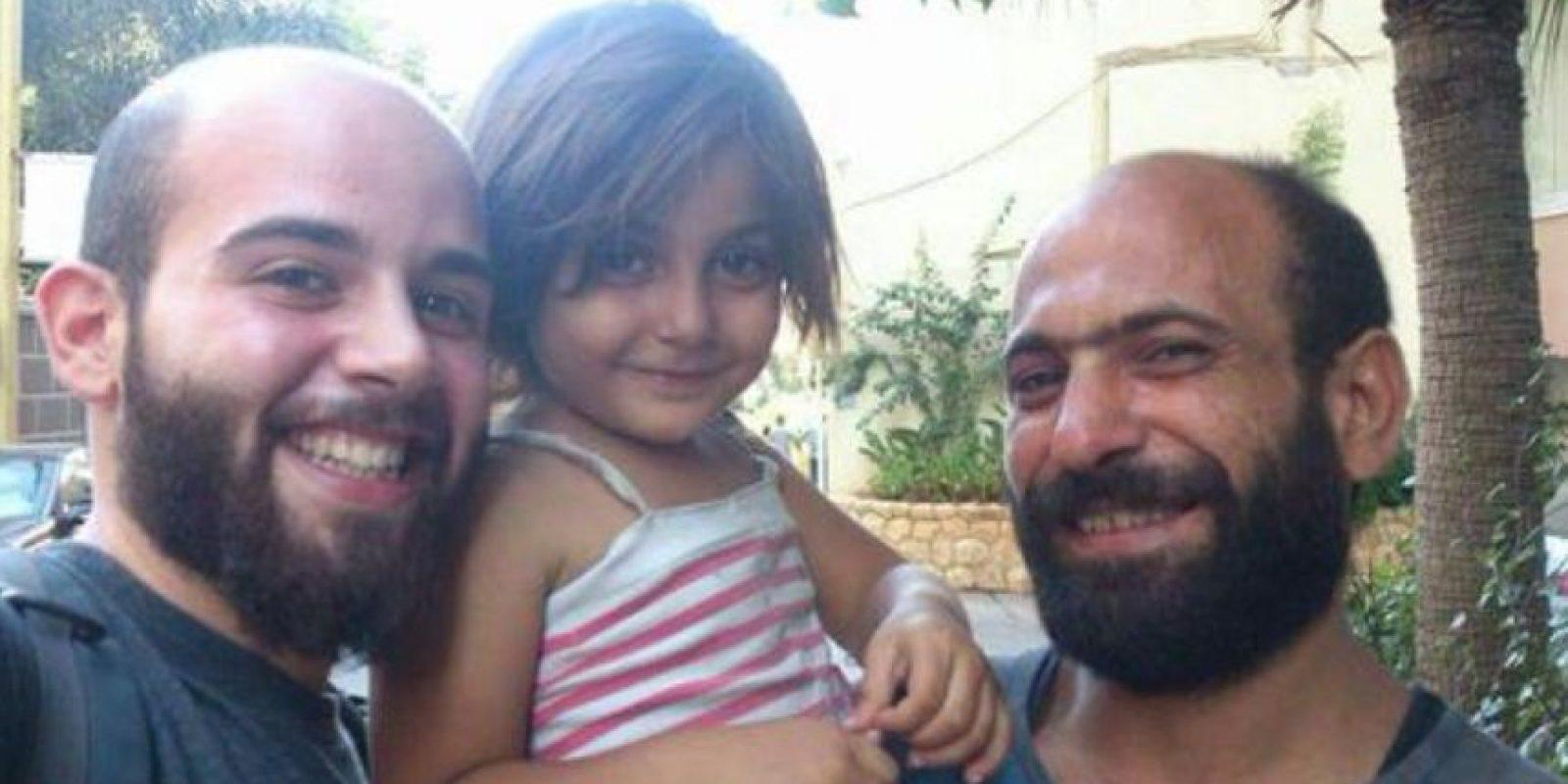 Abdul Halim Attar es padre soltero de dos pequeños. Foto:Vía Twitter @GissiSim