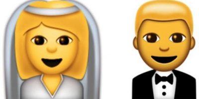 Esposos (novia y novio) Foto:Emojipedia