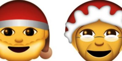 Abuelos navideños Foto:Emojipedia