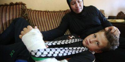 Mohammed regresó a su casa, en compañía de su familia Foto:AFP