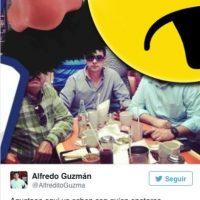De acuerdo a la descripción del tuit, el narcotraficante mexicano se encuentra en el país centroamericano Foto:Twitter