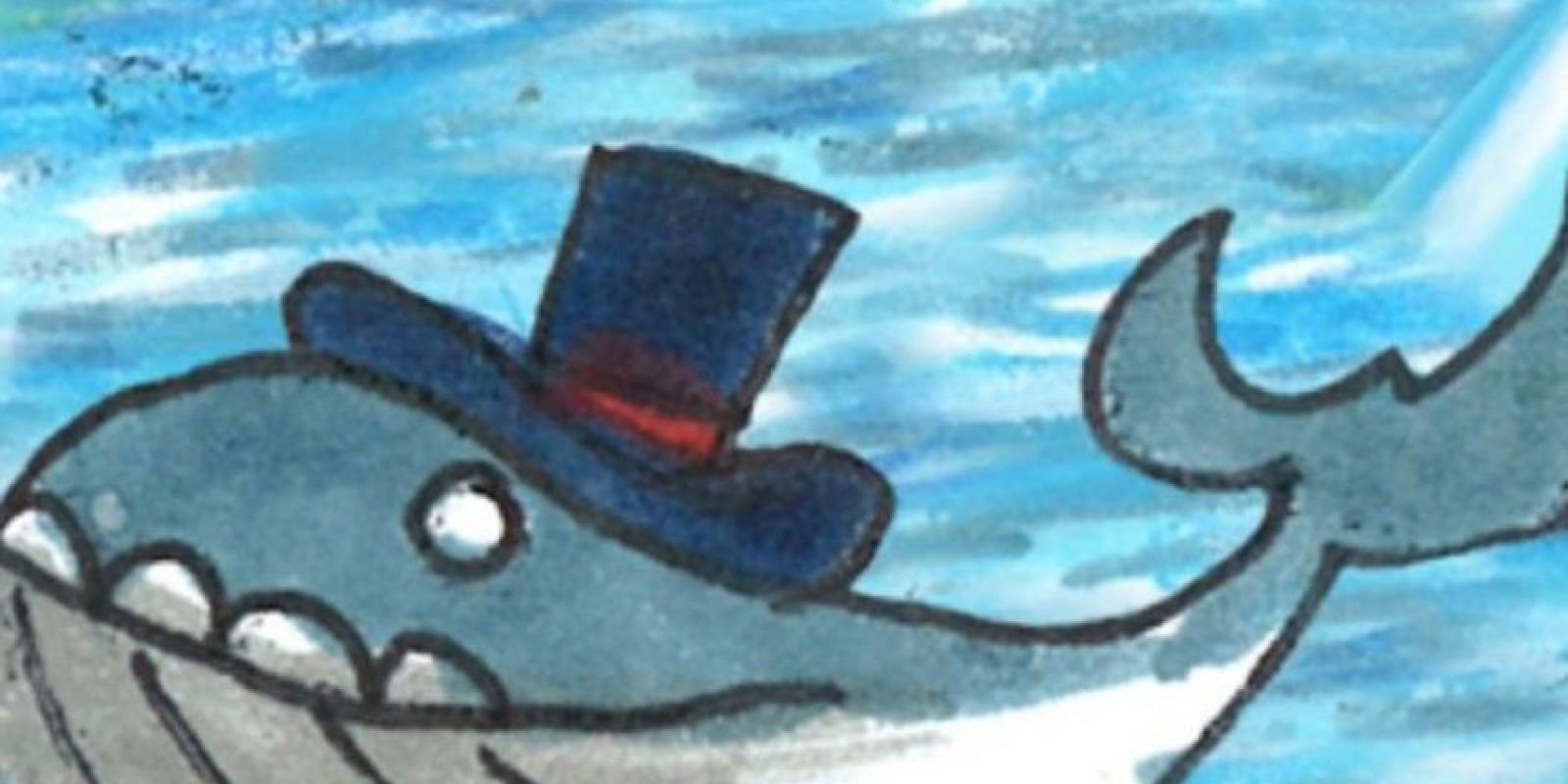 Una ballena con sombrero. Foto:Google