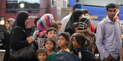 7. Aproximadamente 188 mil inmigrantes han sido rescatados en el Mediterráneo lo que va de año. Foto:AP
