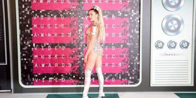 #VMAs2015: Los polémicos outfits que utilizó Miley Cyrus