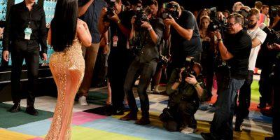 No se quedó callada y le reclamó a Miley Cyrus Foto:Getty Images