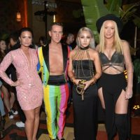 Demi Lovato, Jeremy Scott, Korean e Iggy Azalea Foto: Getty Images