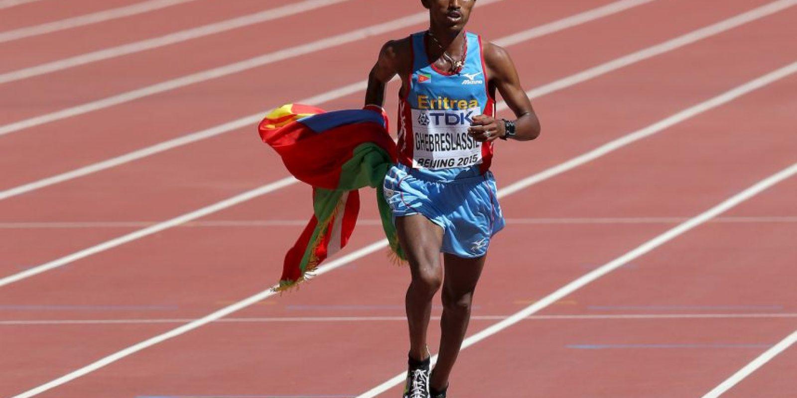 Ghirmay Ghebreslassie Foto:Getty Images