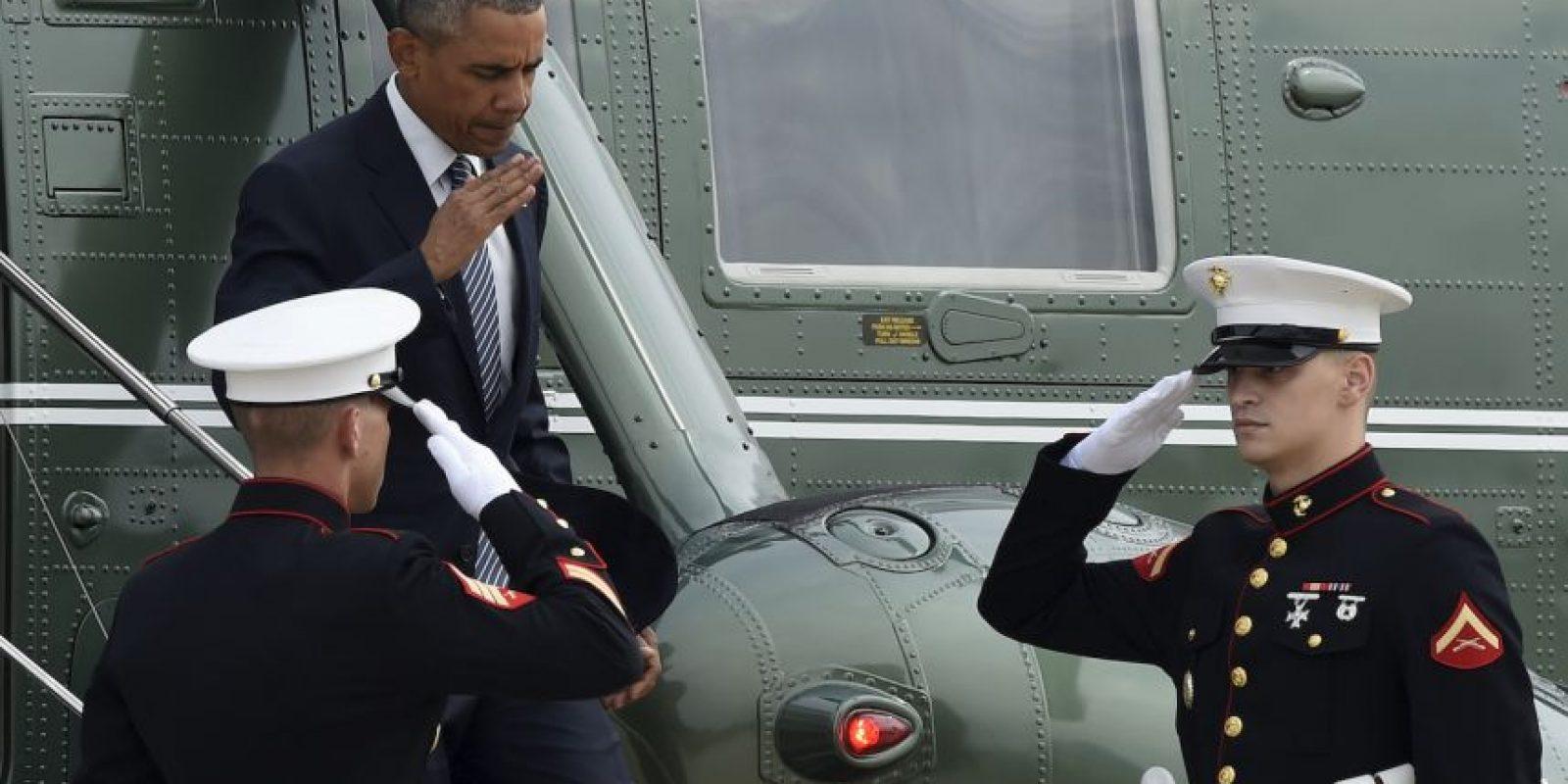 El presidente Obama estará en Alaska tres días. Foto:AP