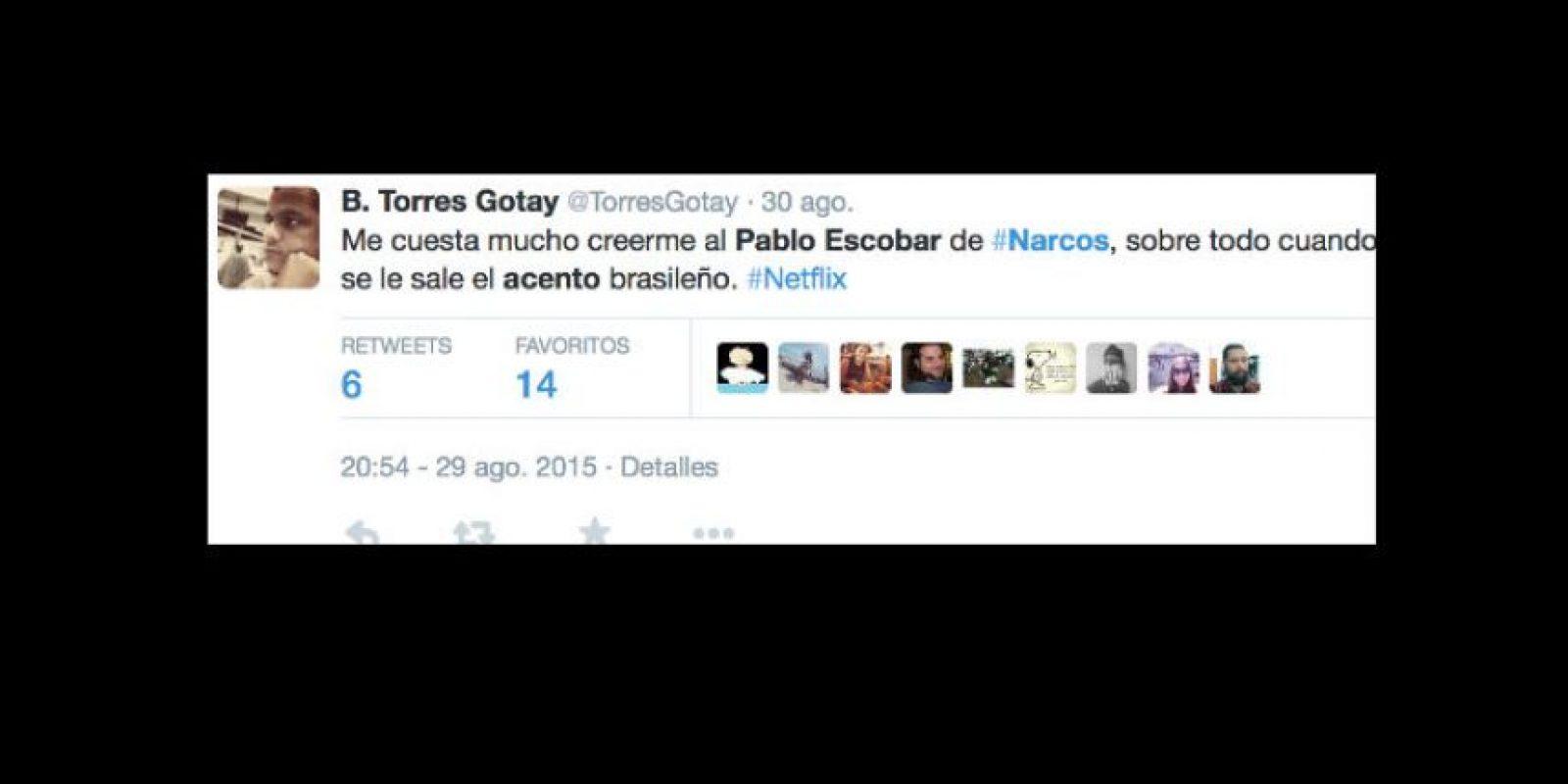 """Muchos critican que sea """"gringo"""". Foto:vía Twitter"""