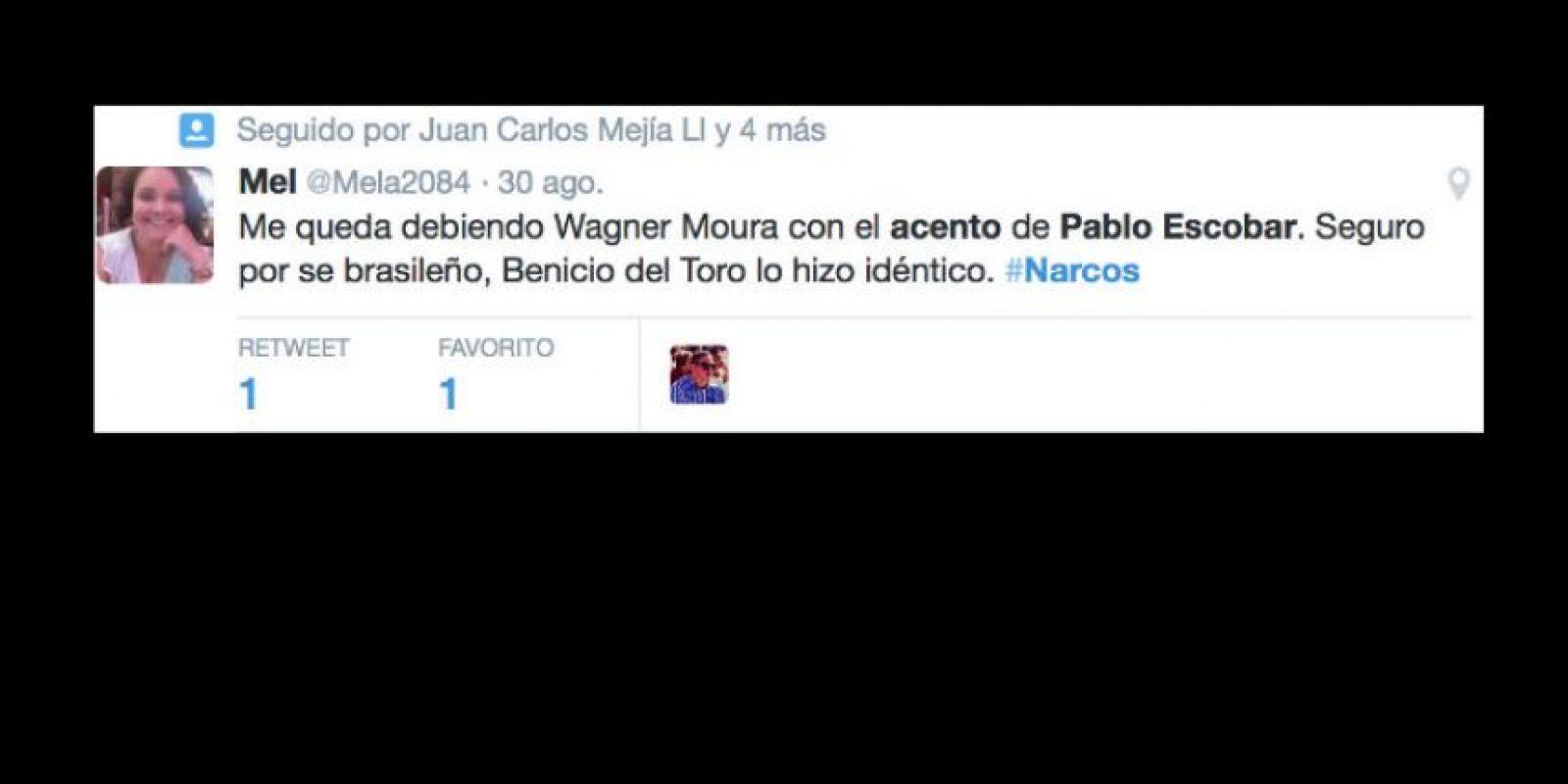 """Todo tiene una explicación: """"Escobar, el patrón del mal"""". Foto:vía Twitter"""