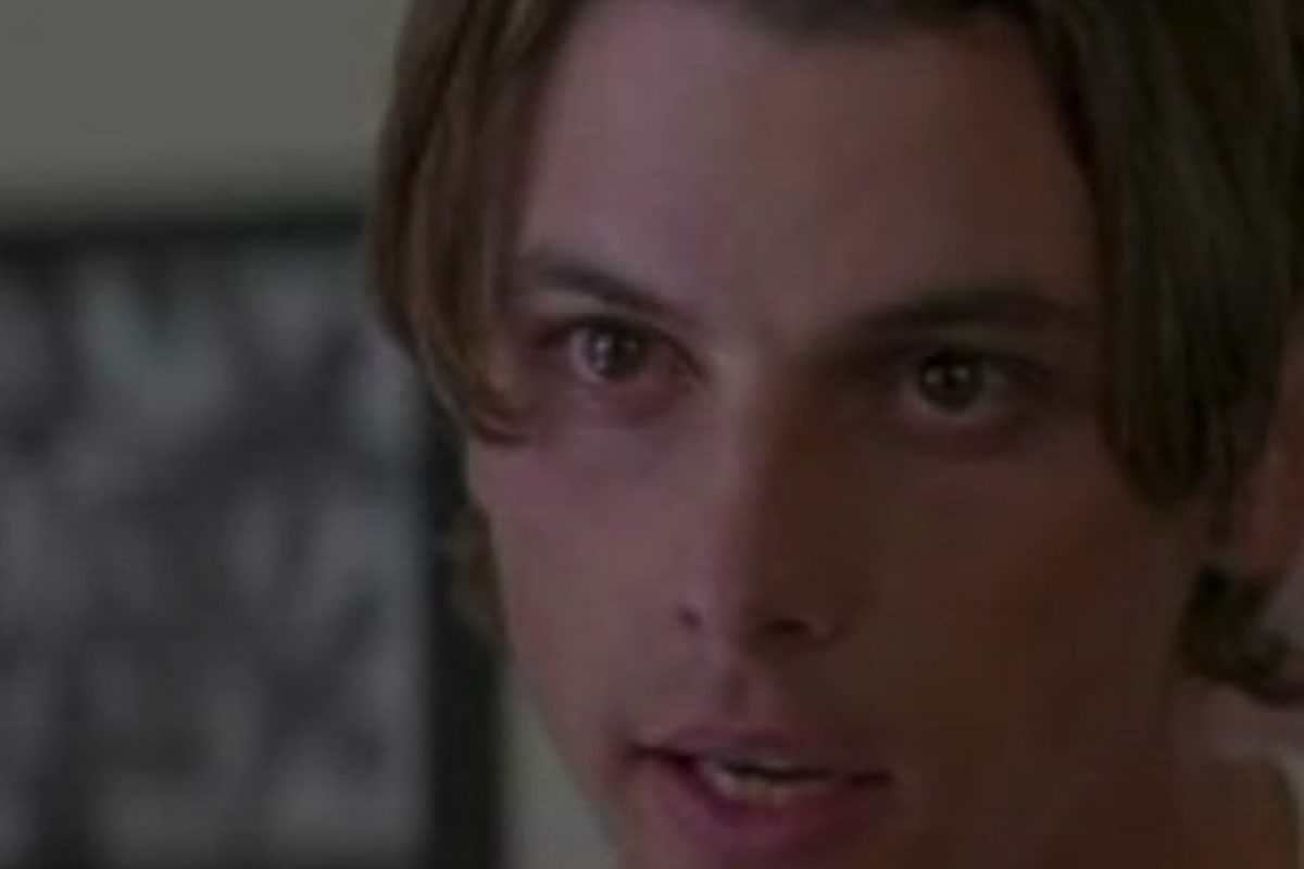 "Skeet Ulrich era ""Billy Loomis"" en ""Scream"" Foto: Via wikia.com"