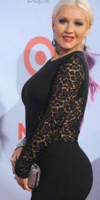 Christina Aguilera fue criticada duramente por sus kilos de más Foto:Getty Images