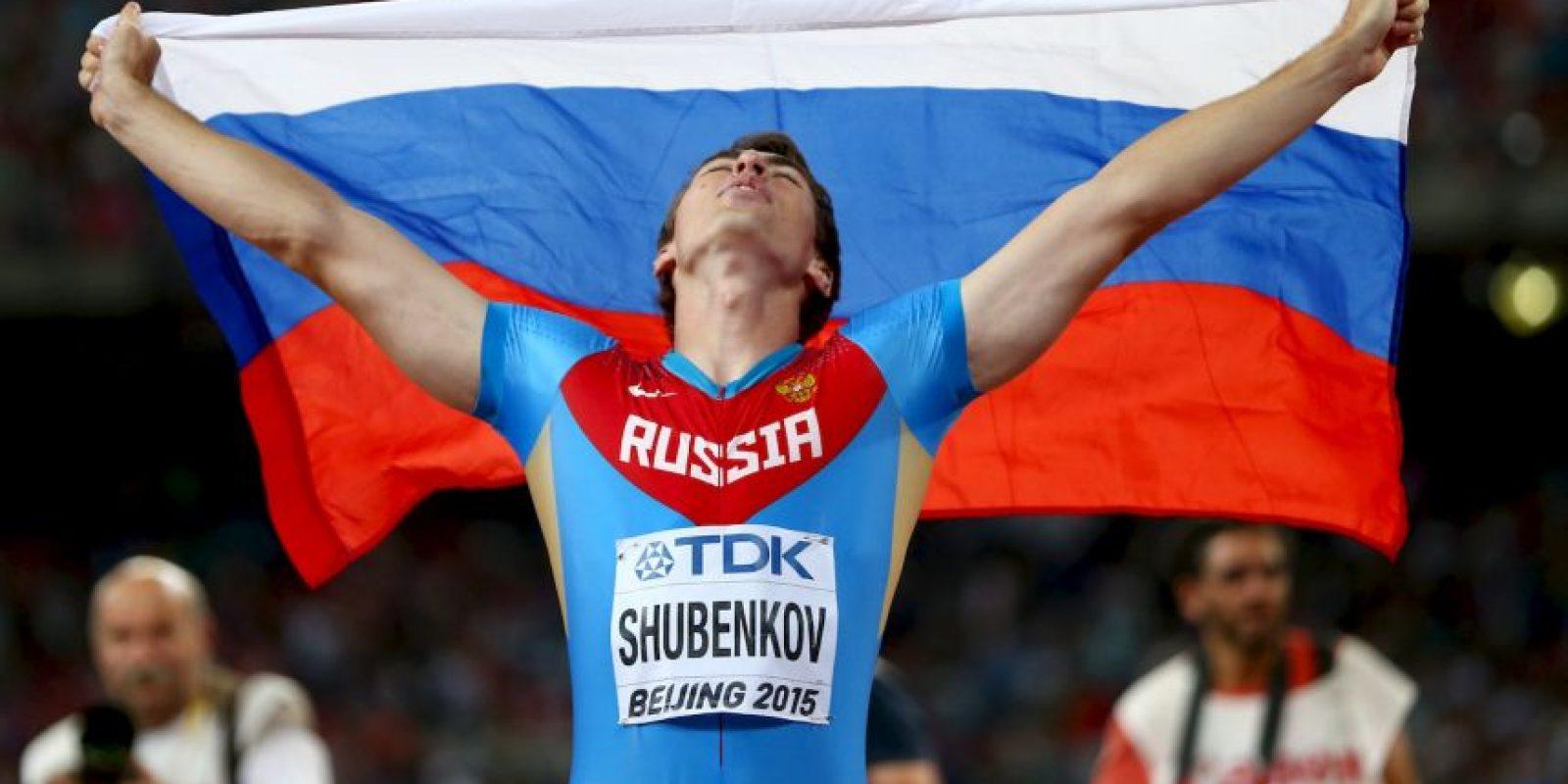 Serguéi Shubenkov Foto:Getty Images