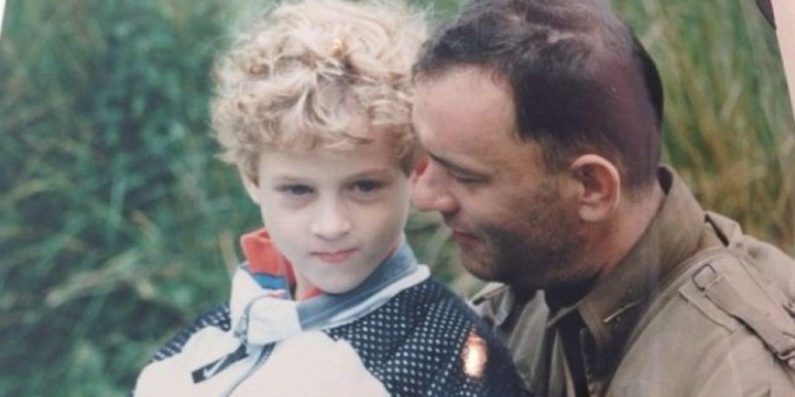 Chester es el tercer hijo de Tom Hanks. Su madre es la actriz Rita Wilson. Foto:Instagram/chethanx