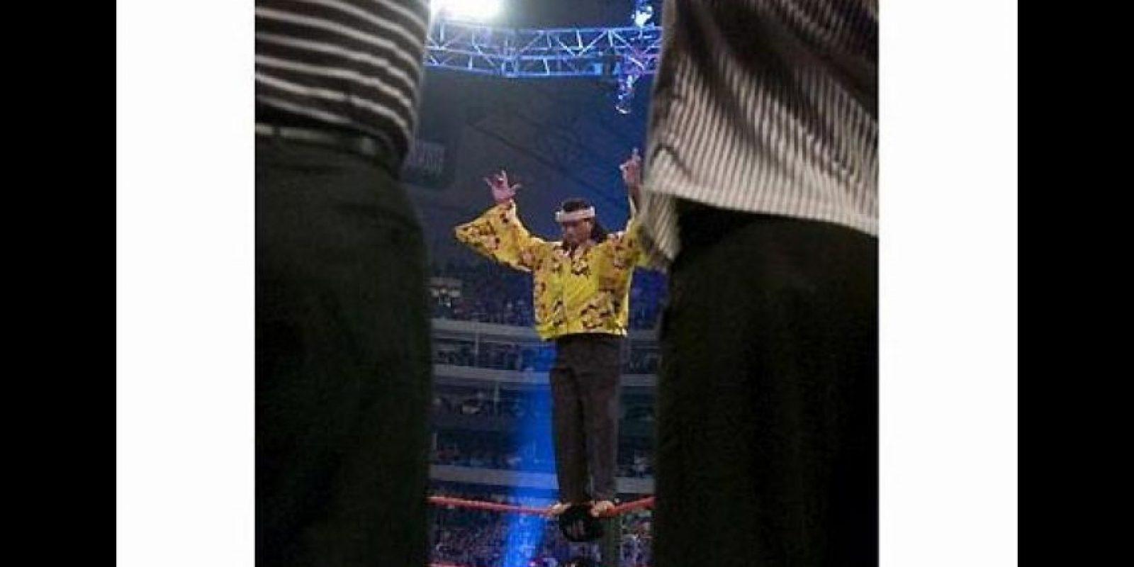 Fue pionero en la lucha aérea en Estados Unidos Foto:WWE