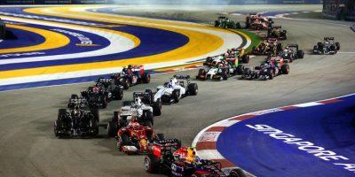 Mundial de Fórmula 1 -> Gran Premio de Singapur Foto:Getty Images