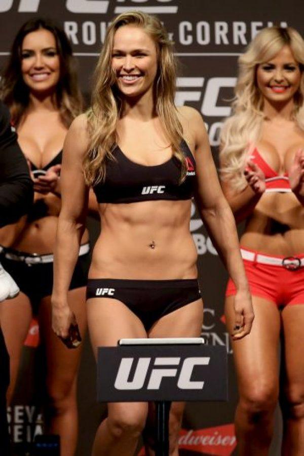 Su próxima pelea será frente a Holly Holm en UFC 193. Foto:Getty Images