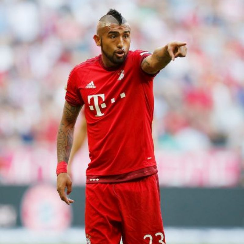 7. Arturo Vidal (Chile) Foto: Getty Images