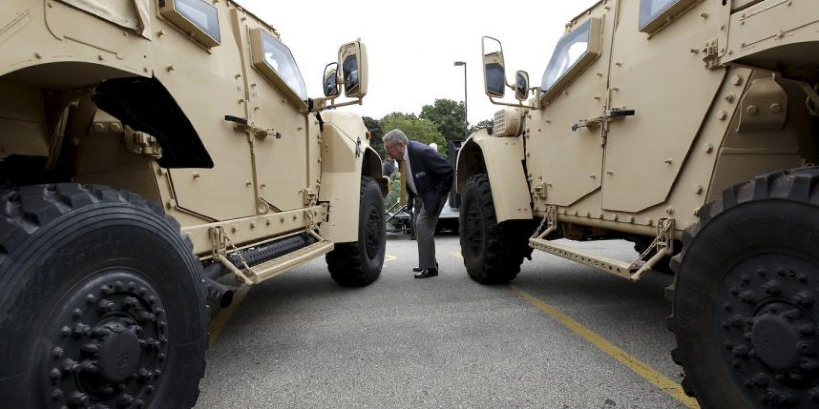 Este es el vehículo JLTV. Foto:AP