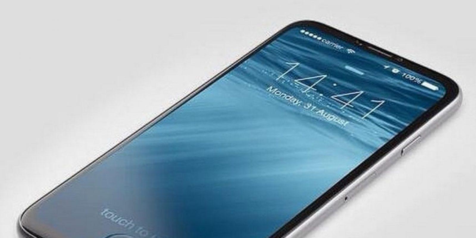 Algunos seguidores de la marca imaginan al móvil con una pantalla más amplia e incluso sin botón de inicio Foto:Tumblr
