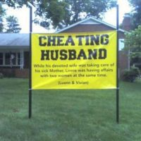 Humillar al marido que se puede ir a un hotel. Foto:vía Twitter