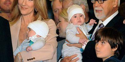 Dio a luz a dos niños, Nelson Angélil y Eddy Angélil en octubre del 2010, con 41 años de edad Foto:Getty Images