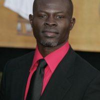 Dijmon Hounsou. Se rumoró un posible romance con él en 2007 Foto:Getty Images
