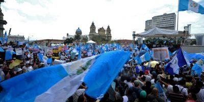 Ahora el presidente de Guatemala podrá ser investigado. Foto:AFP