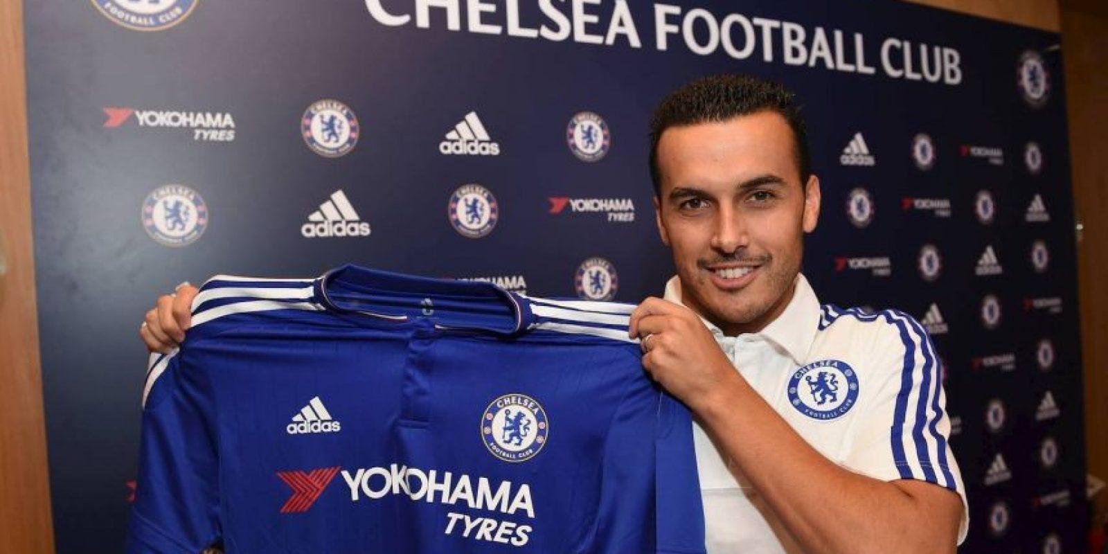 10. Pedro (Chelsea) = 27 millones de euros. Foto:Vía facebook.com/chelseafc