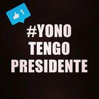Y estas fueron las imágenes compartidas en Instagram con el hashtag #YoNoTengoPresidente Foto:Instagram.com/explore/tags/guatemala/